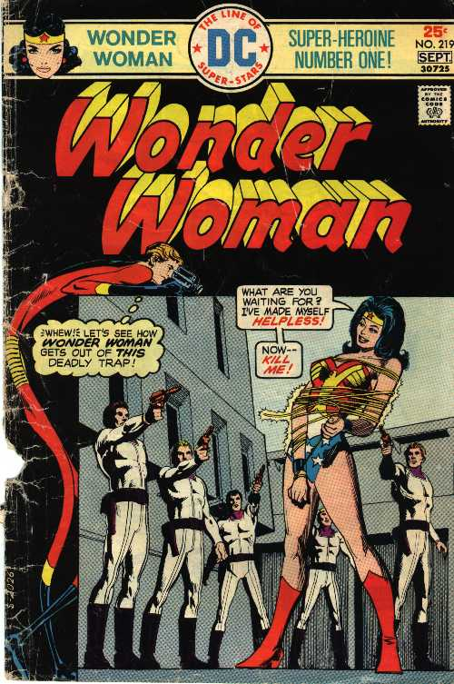 Smiling placidly, a 